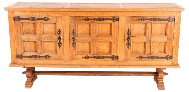 19th-C. Dutch Oak Buffet