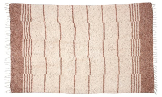 """French 2-Sided Rug, 6'11"""" x 4'5"""""""