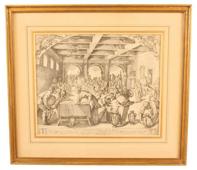 19th-C. Italian Engraving