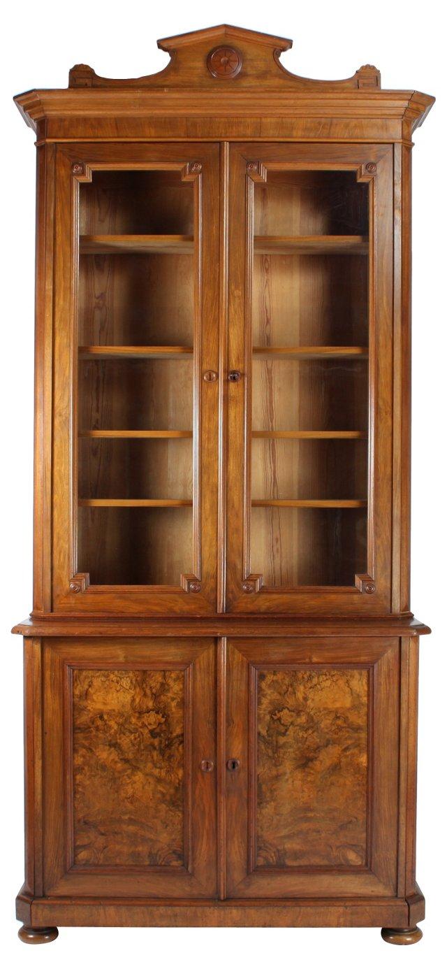 French Walnut   Bookcase