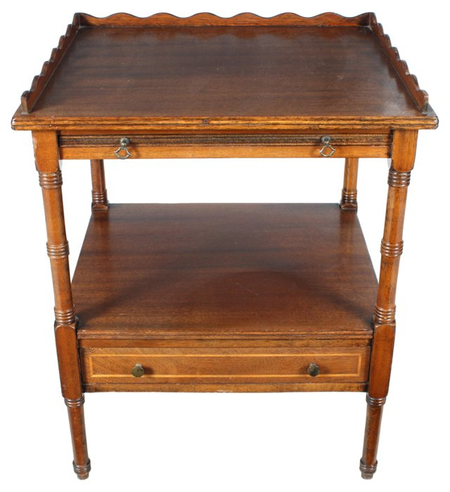 19th-C. English Table