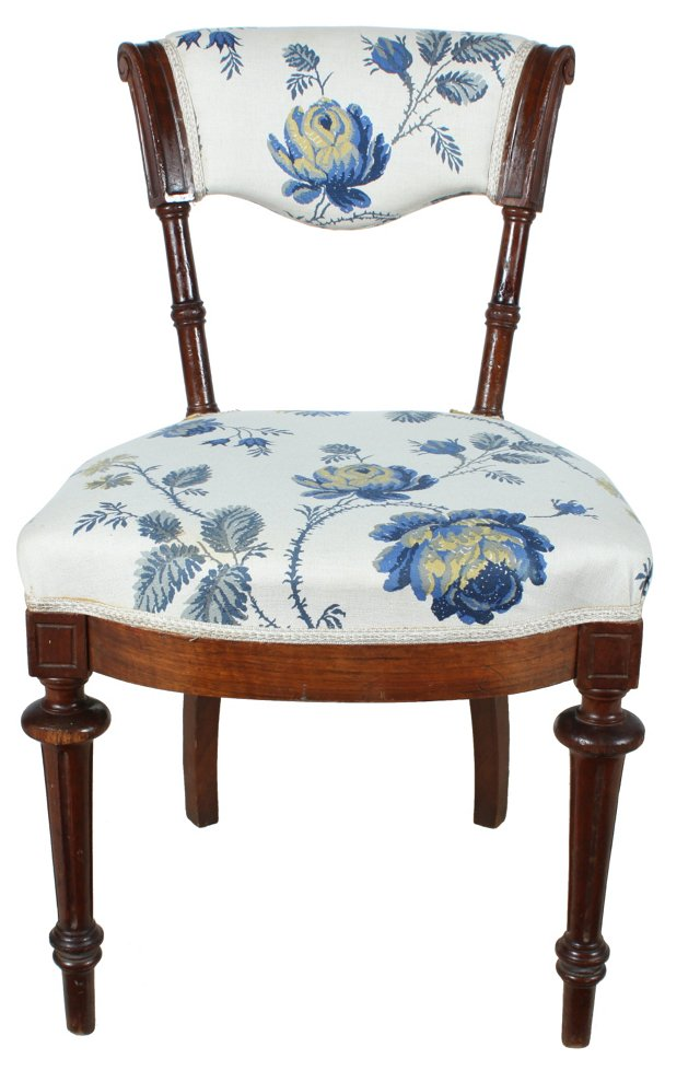 1920s Rococo-Style Parlor Chair