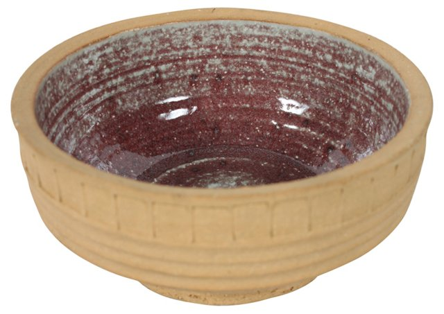 Midcentury Swedish Stoneware Bowl