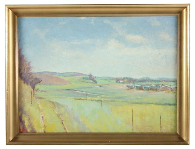Beaune Landscape, 1951