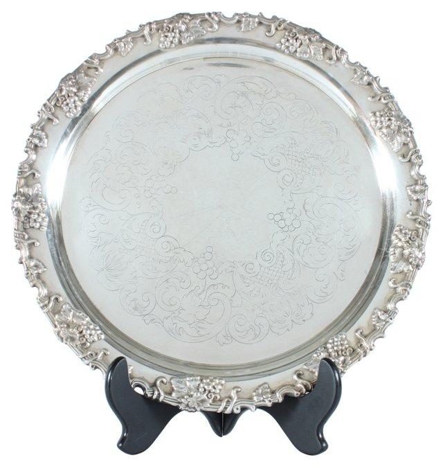 Swedish Silverplate Platter