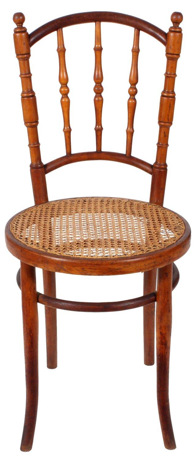 19th-C. Cane-Seat   Chair
