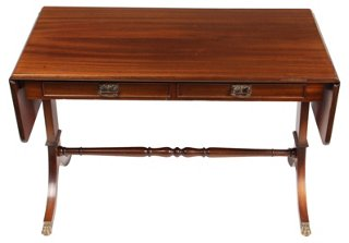 1940s Duncan Phyfe Style Coffee Table   Southern Grace   Vintage Styles    Vintage   One Kings Lane