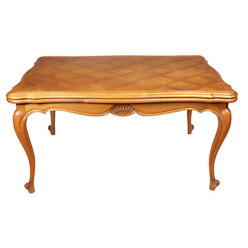1950s Louis-XV-Style Dining Table