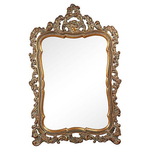 1960s Rococo Revival Mirror