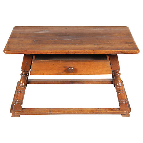 19th C. Austrian Work Bench/Coffee Table