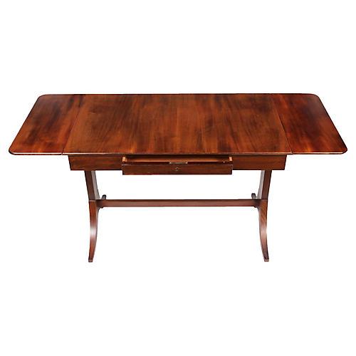 1940s Regency-Style Pembroke Table
