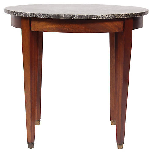 1950s Directoire Marble Top Table