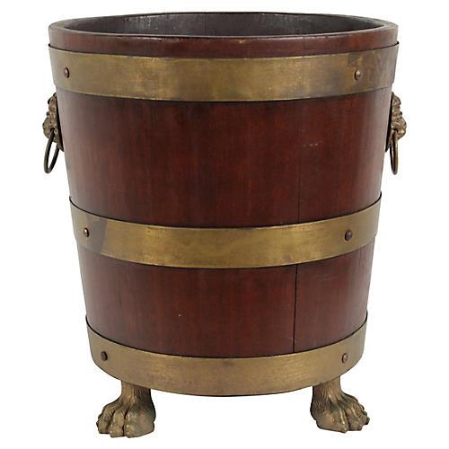 Antique Dutch Tea Bucket