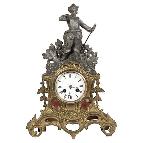 C.1890 French Mantle Clock