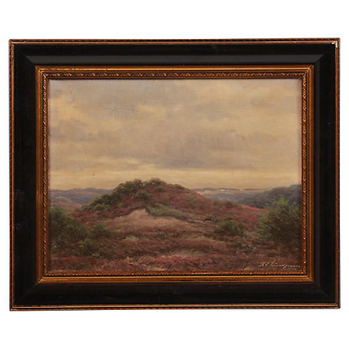 Karl Emil Lundgreen Hilly Landscape