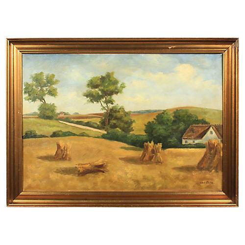 Rural Landscape by Sten Bille