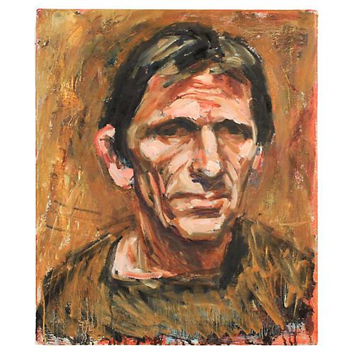 Portrait of Peter Bastian by Mogens Hoff