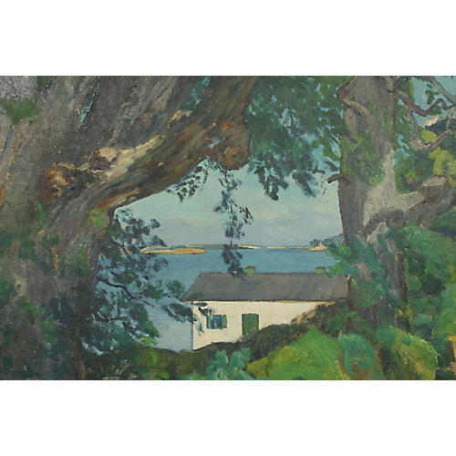 House w/ a View by Alfred Vindeby
