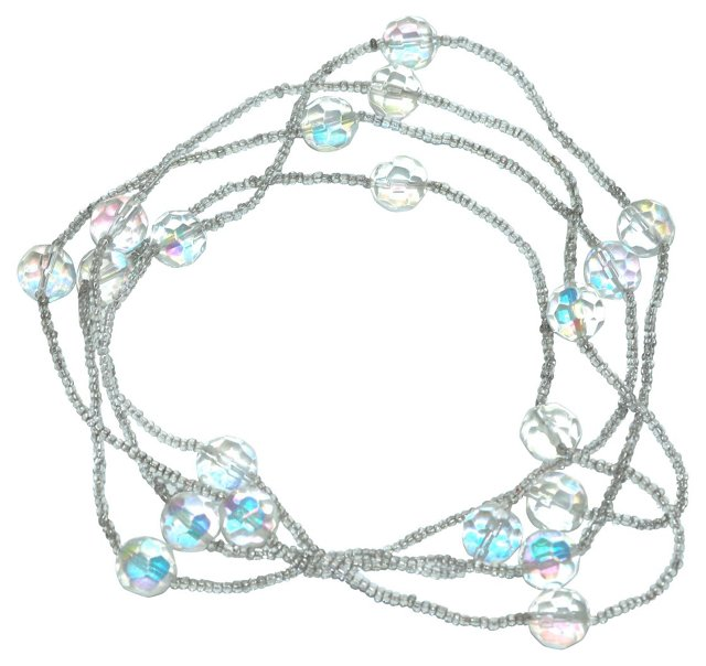 Glass Flapper Necklace