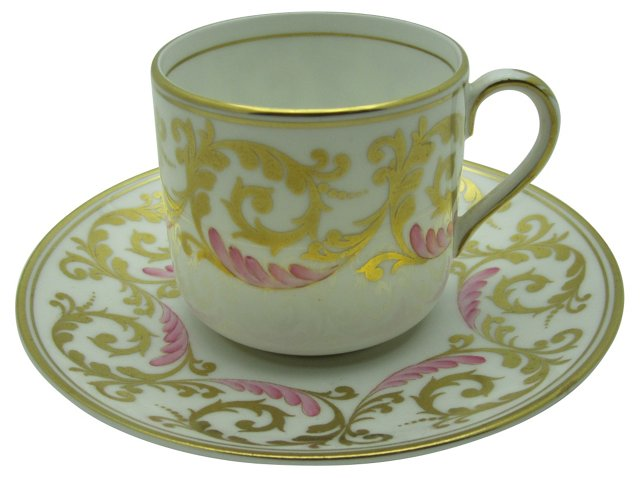 Grosvenor Tiffany Cup & Saucer