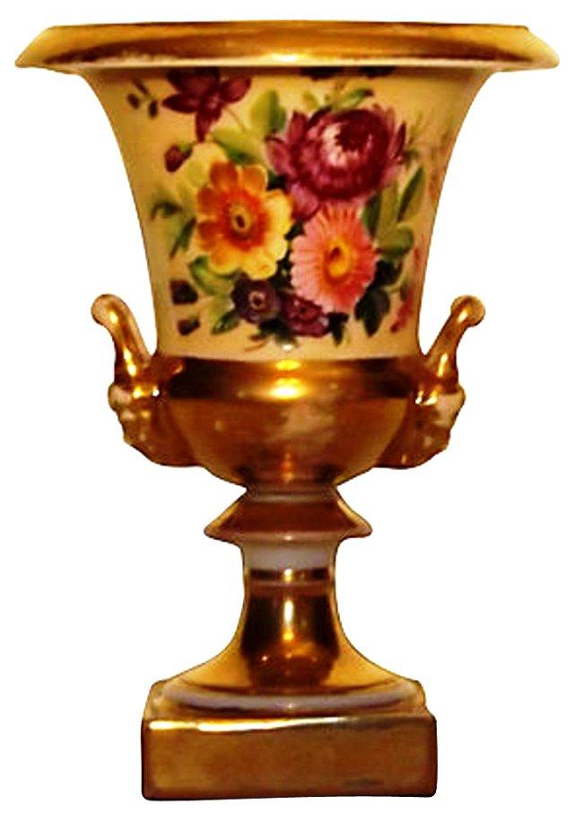 19th-C. Paris Porcelain Urn