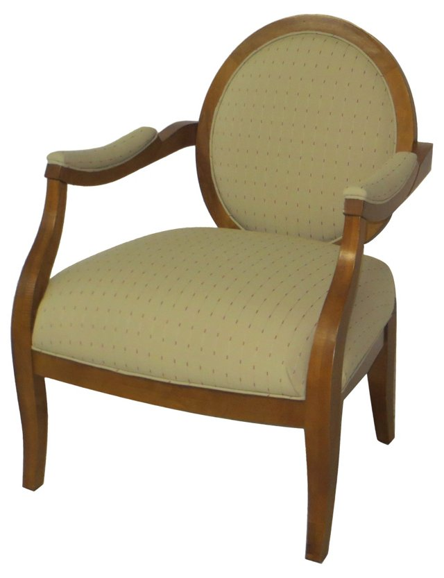 19th-C. Biedermeier Armchair