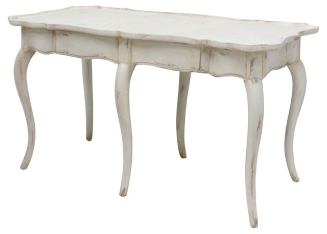 Painted Louis XV-Style Coffee Table