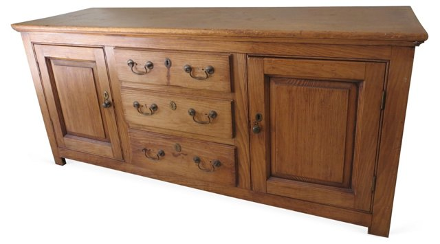 19th-C. Pine   Sideboard