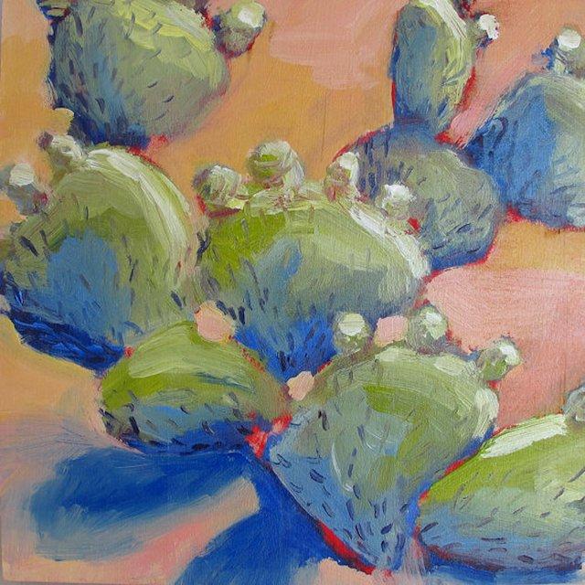 Flowering Cacti, Tuscon