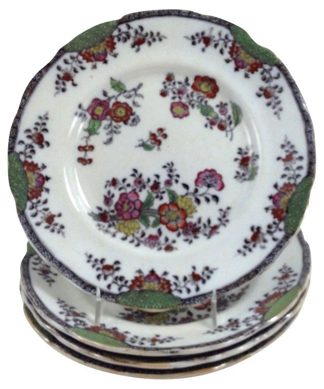 English Dinner    Plates, S/4