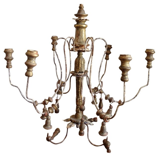 French Candlestick Chandelier