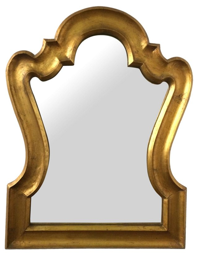 Curved Arch Frame Mirror