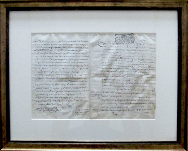 18th-C. French Letter