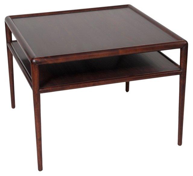 Walnut Side Table by Robsjohn-Gibbings