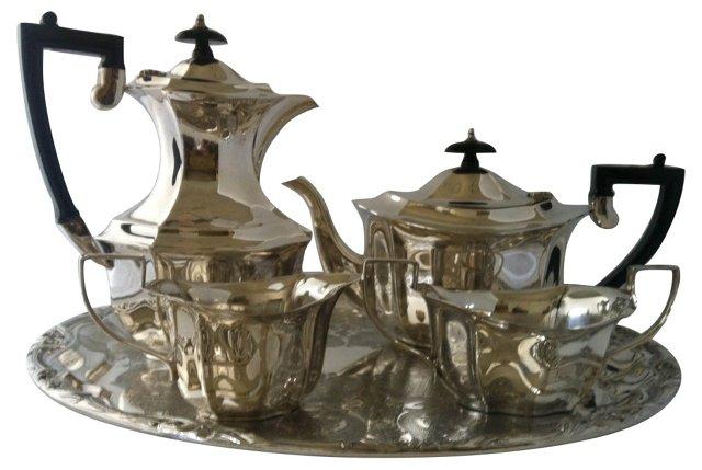 Silverplate Coffee  Service Set, 5 Pcs