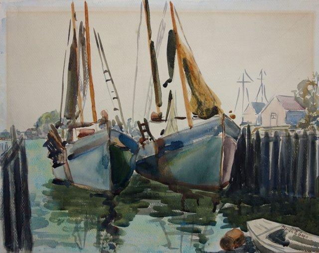 Docks at Gloucester