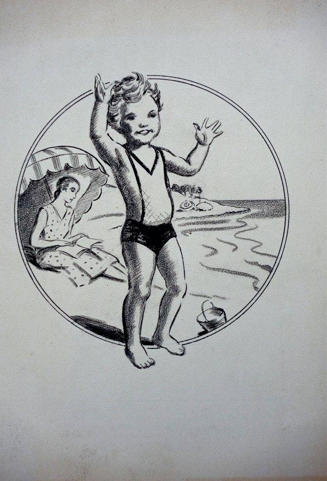 Beach Boy w/ His Mom