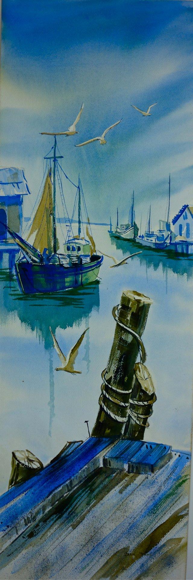 Watercolor by Carol Pyle Jones