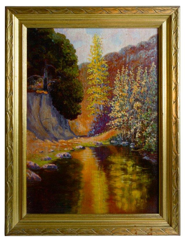 Landscape w/ Golden Light