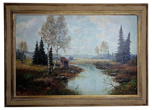 Landscape by Ove Svensen