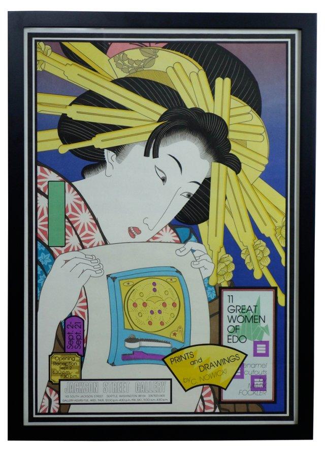 Great Women of Edo by C. Nowicki