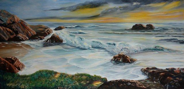 The Roar of Breaking Waves by C. Yodelis