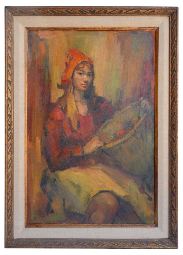 Portrait by Lillian Rhodus