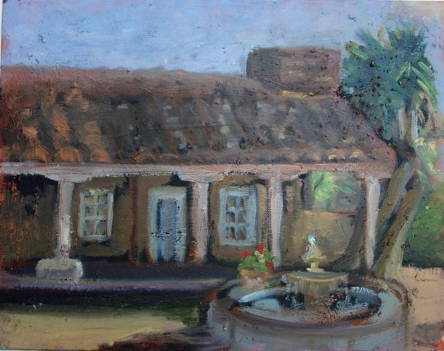 Clay-Tile Home w/ Fountain