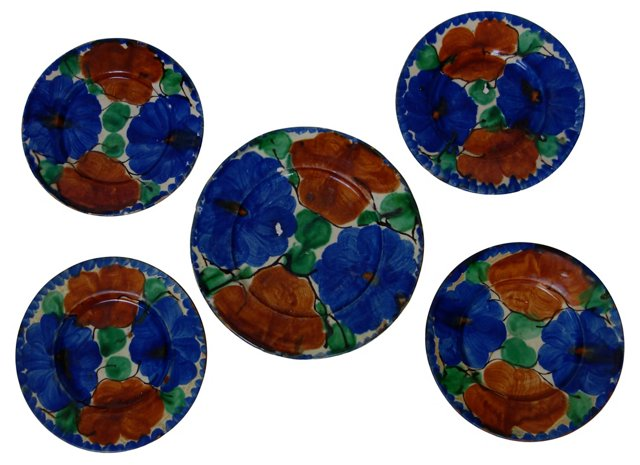 Mexican Wall Plates, C.1930, S/5