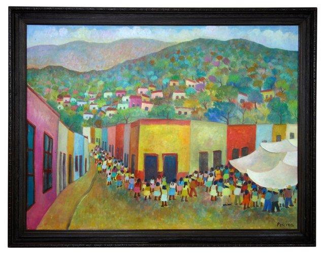 Colorful Village by G. Aurelio Pescina