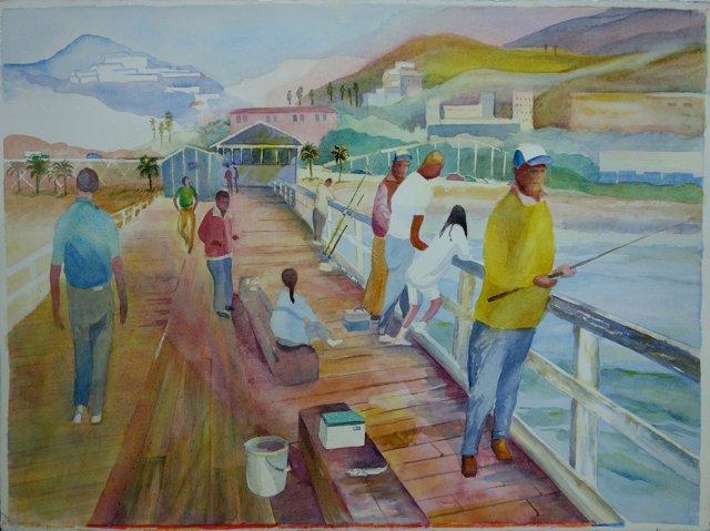 California Fishing Pier