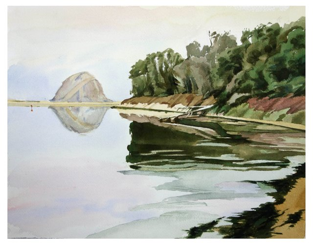 Lakeside Scene