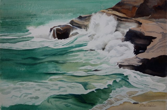 Jade-Green Surf