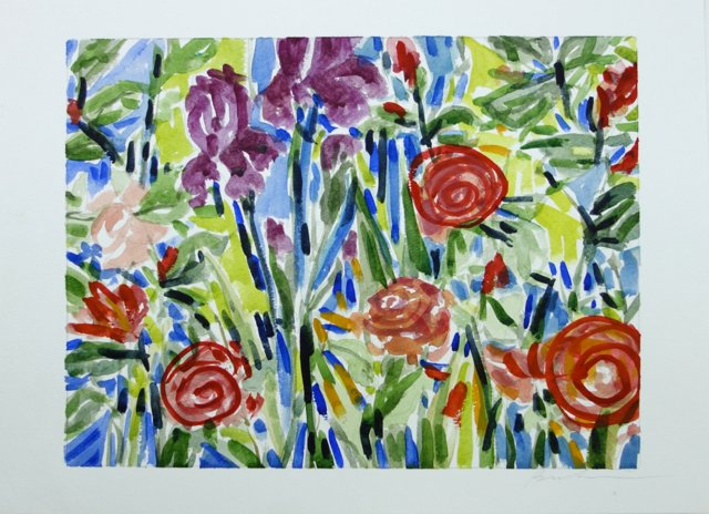Floral Profusion by Barbara Winkler